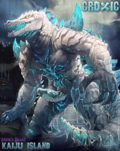 Croxic artwork kaiju